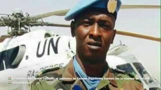 Mémoire et Honneur aux Vaillants Soldats (FDS) de l'Armée Nigerienne, victimes du terrorisme.