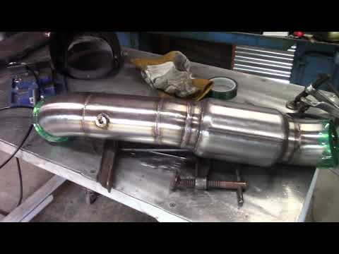 Putting A Shorty Race Bullet Muffler On The Turbo LS G Body