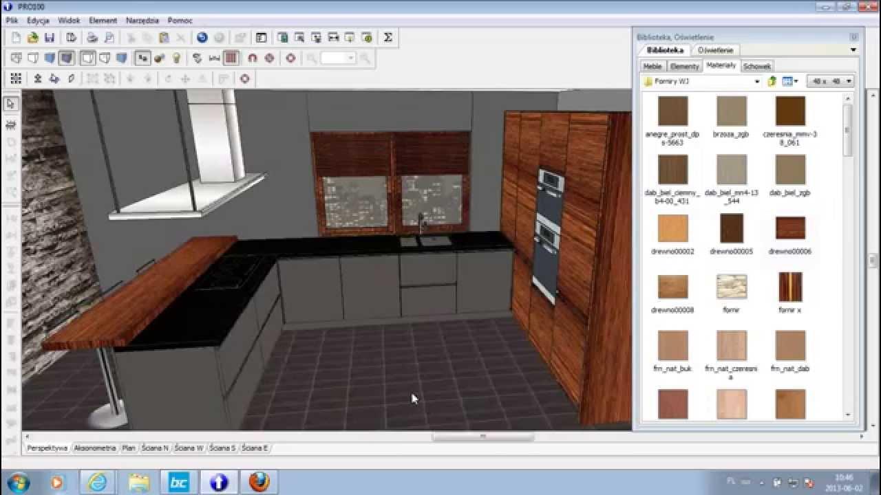 Program do wizualizacji kuchni