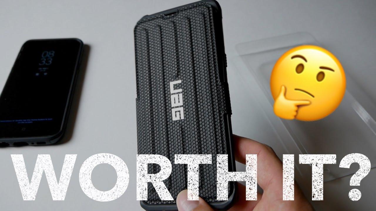 new styles c3ca2 e891d Galaxy S8 Plus UAG Metropolis Case [Is it worth the price?]