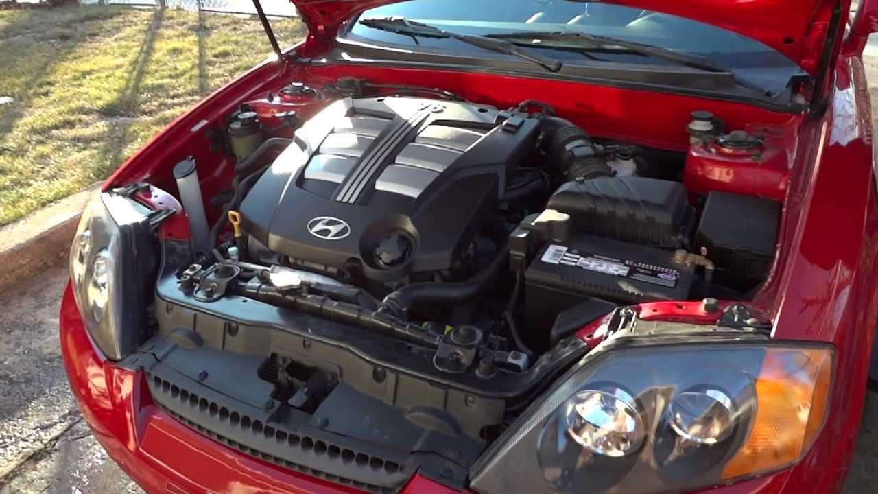 2003 Hyundai Tiburon Gt V6 Stock Air Filter Rev Before