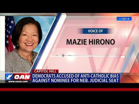 Democrats accused of anti-Catholic bias against nominee for Neb. judicial seat