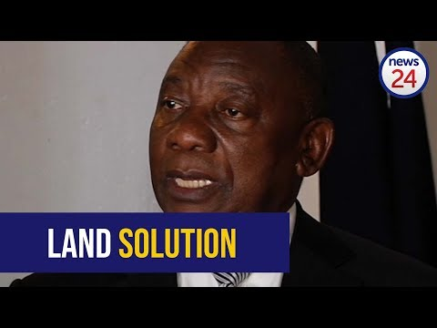 Ramaphosa says there are lessons to learn from Zimbabwe on land reform