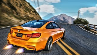 GTA V 2018 Cars Gameplay 4K | ULTRA REALISTIC Graphics MOD