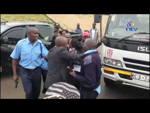 Police officers injure EACC officers who were arresting colleagues