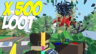 X-500 ЛУТ I ЧТО БУДЕТ ЕСЛИ НА СЕРВЕРЕ БУДЕТ В 500 РАЗ БОЛЬШЕ ЛУТА В ЗОМБИ?