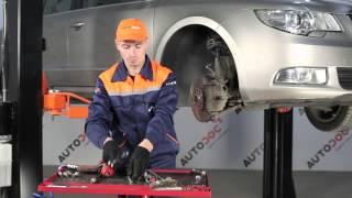 Jak vyměnit tyčka stabilizátoru přední na SKODA SUPERB 2 [Návod]