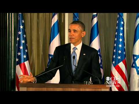 Obama Defends Record On Israeli-Palestinian Peace Negotiations