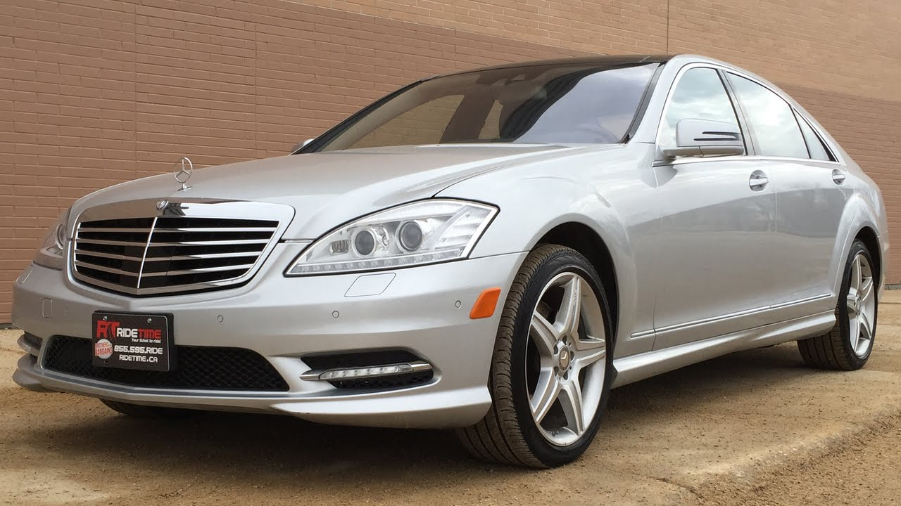 2010 Mercedes Benz S550 4matic Amg Sports Pkg Nav Pano
