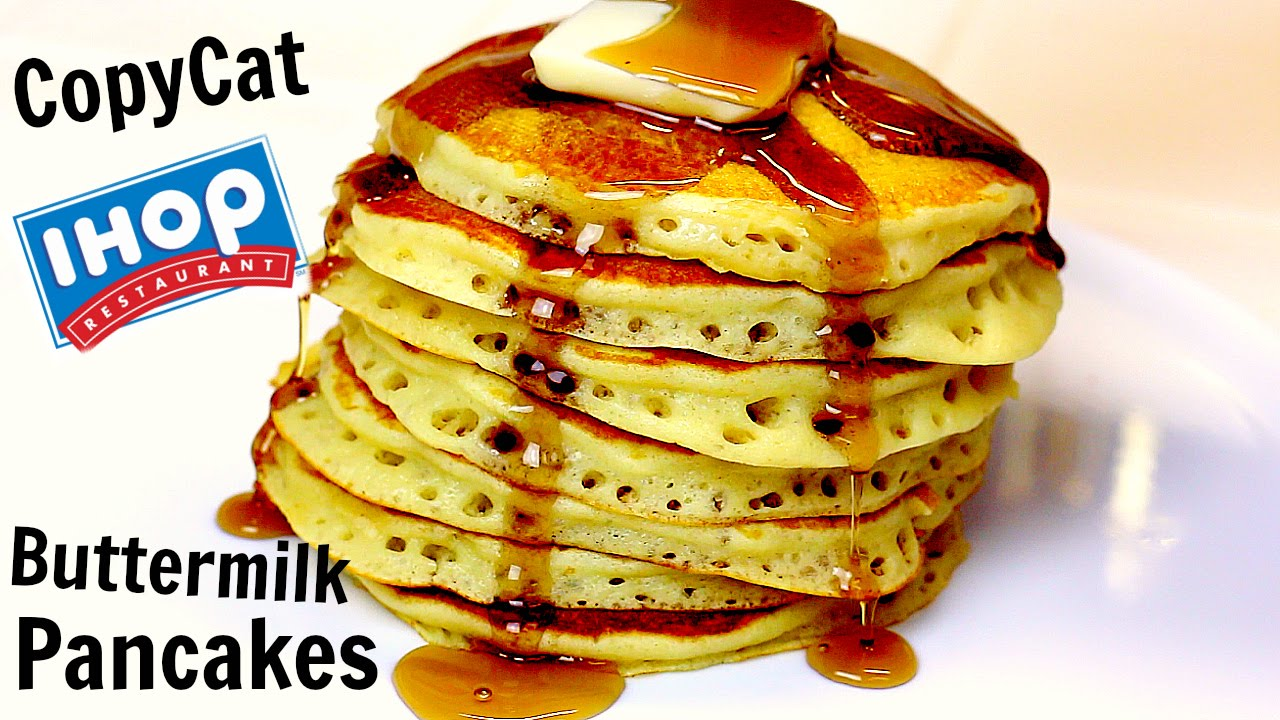 Copycat Ihop Buttermilk Pancakes Recipe Ingredients 1 1 4 Cup Of Flour 1 Tsp Of Baking Powder Ihop Buttermilk Pancakes Ihop Buttermilk Pancake Recipe Recipes