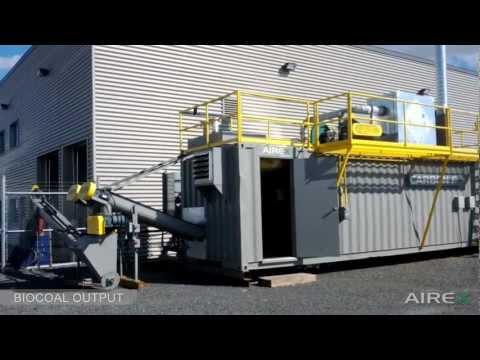 Torrefaction / Carbonization System - CarbonFX