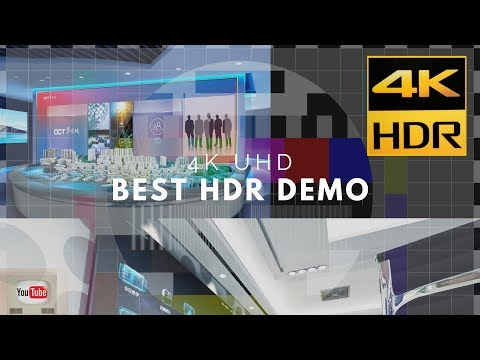 BEST HDR DEMO FOR TVs | 4KHDR TEST