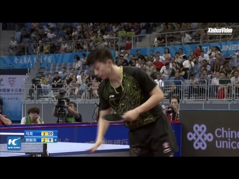 LIVE: Ma Long vs Fan Zhendong  | Men's Singles Final | Chinese National Games 2017