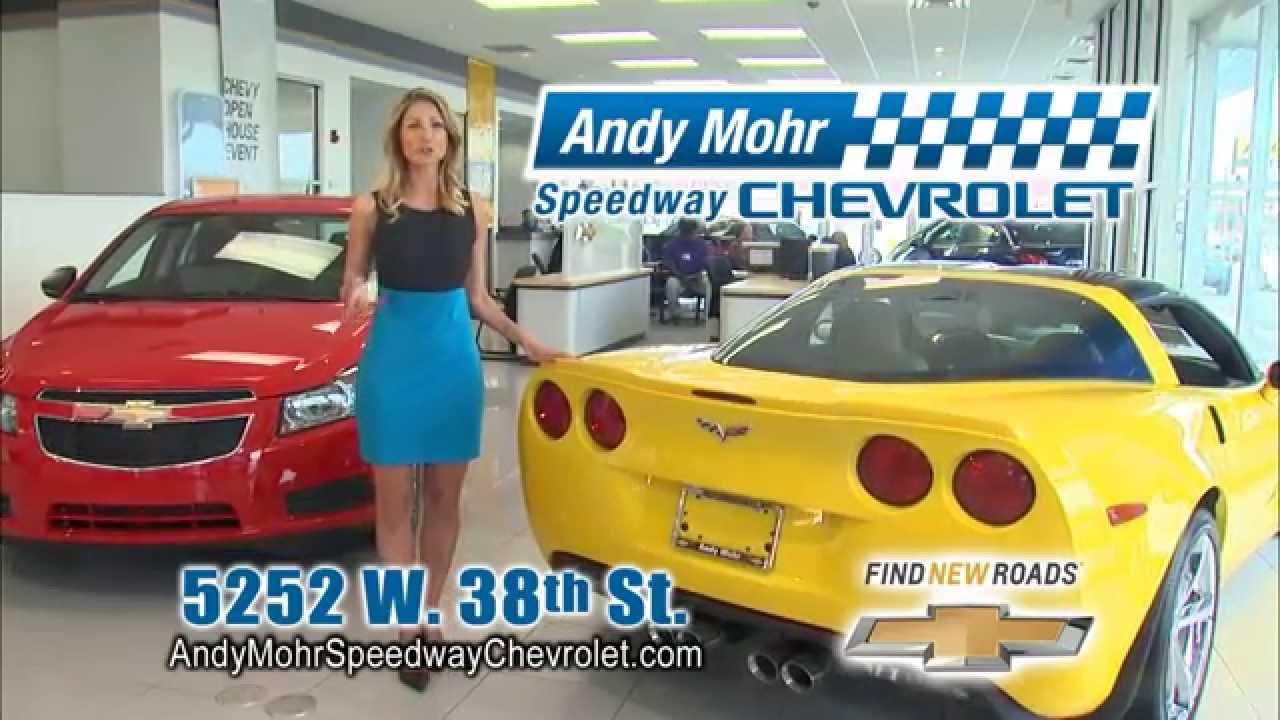 Andy Mohr Nissan >> Andy Mohr Speedway Chevrolet TV Commercial - May 2014 ...