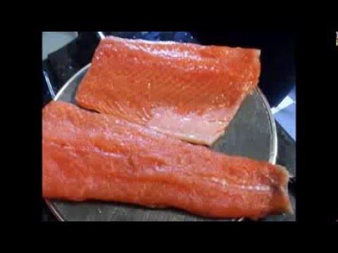 C mo preparar salm n ahumado en casa youtube for Como cocinar salmon