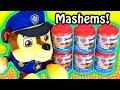 Paw Patrol Mashems/Fashems Surprise Eggs Capsules!