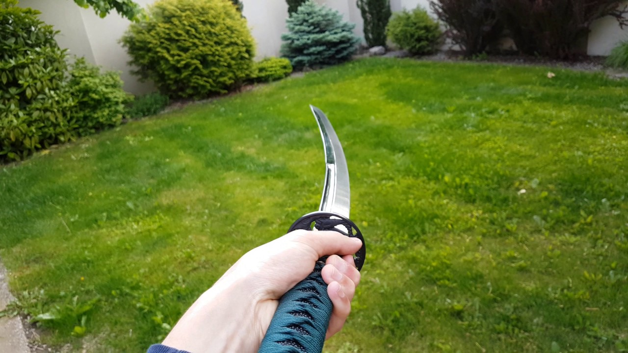 Review Dragonfly Katana Sword Cold Steel In High Detail