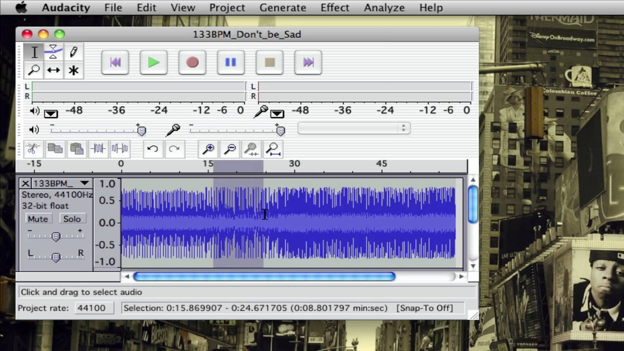 how to make audio smoother audacity
