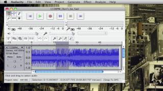 How to loop audio in audacity (Basic Tutorial)