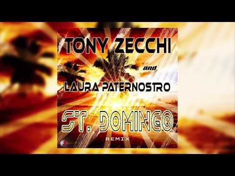 Tony Zecchi & Laura Paternostro - ST. DOMINGO remix - (Cover Art)