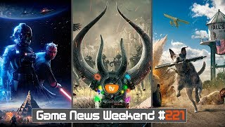 Игровые Новости — Game News Weekend #221 | (Star Wars Battlefront 2, WH Vermintide 2, Far Cry 5)