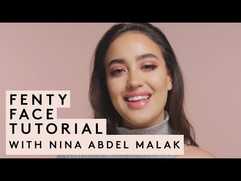 NINA ABDEL MALAK'S EID FENTY FACE TUTORIAL thumbnail