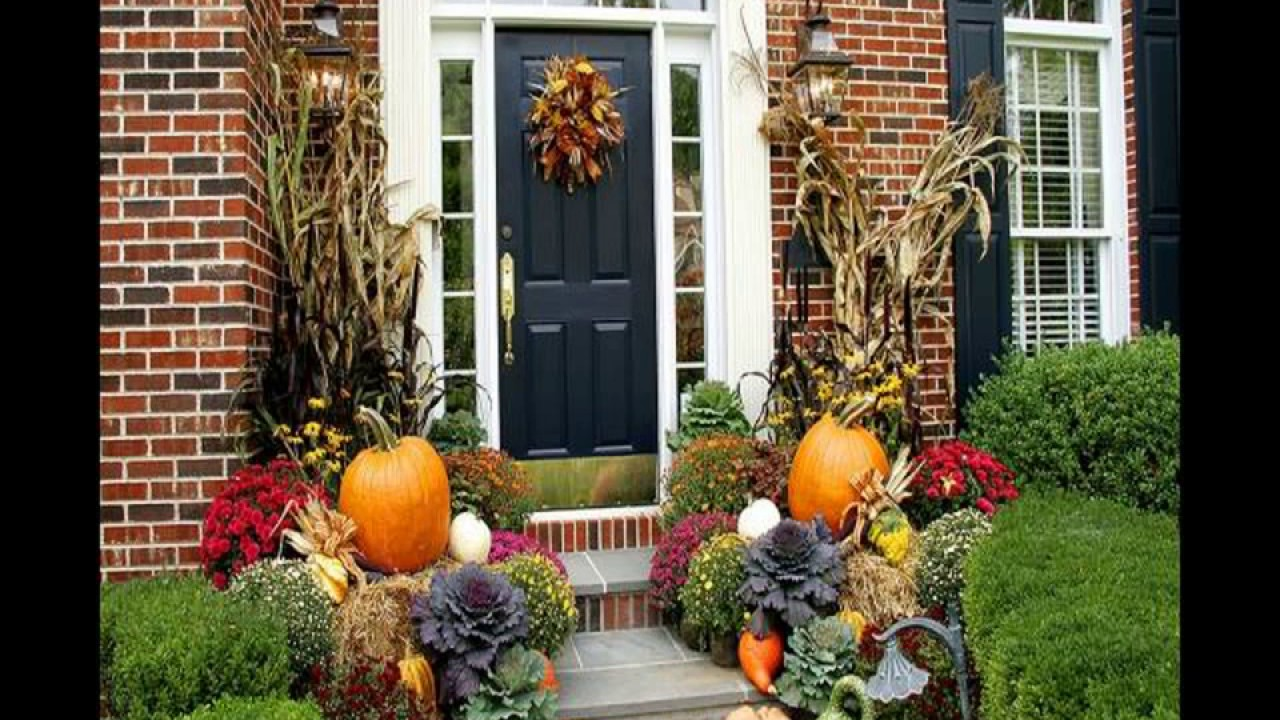 25 Cute And Easy Outdoor Fall Decorations Ideas 2018 Youtube