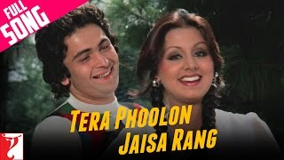 Tera Phoolon Jaisa Rang - Full Song | Kabhi Kabhie | Rishi | Neetu | Kishore Kumar | Lata Mangeshkar