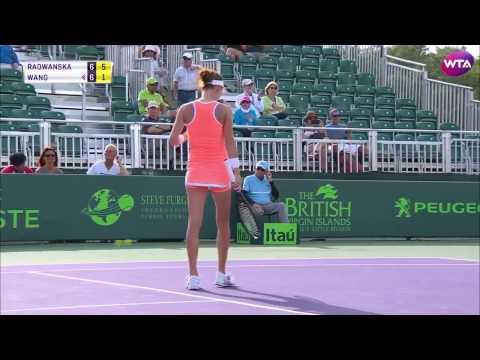 2017 Miami Open Day 3 | Shot of the Day | Agnieszka Radwanska