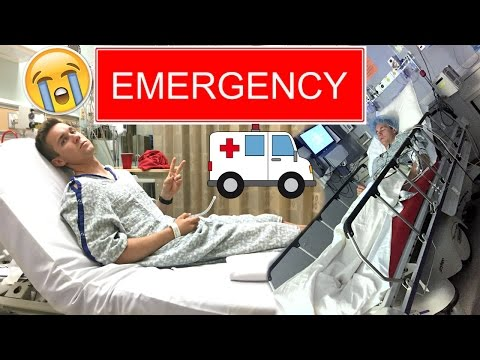 EMERGENCY HOSPITAL VISIT & FUNNY ANESTHESIA REACTION😭🚑🚨