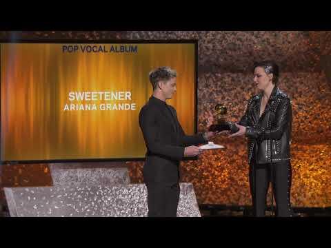 Ariana Grande Wins Best Pop Vocal Album | 2019 GRAMMYs Acceptance Speech