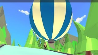 ROBLOX: I MADE A BALLOON TRIP AND WENT TO A CASTLE IN THE SKY! (Adoptez-moi)
