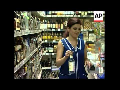 Russia sets minimum price for vodka to curb alcohol abuse