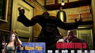 Nemesis Hates The Racoon Press - Resident Evil 3 [#02] [LongPlay] [Hard Mode] [Barry Ending]