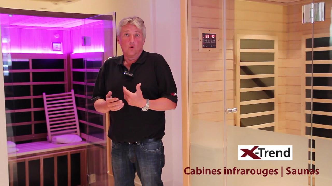 Cabine De Sauna Prix cabine infrarouge x-trend | sauna infrarouge