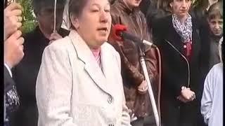 Открытие памятника Г.В.Свиридову в г.Балашиха Московской области. 2002 год.