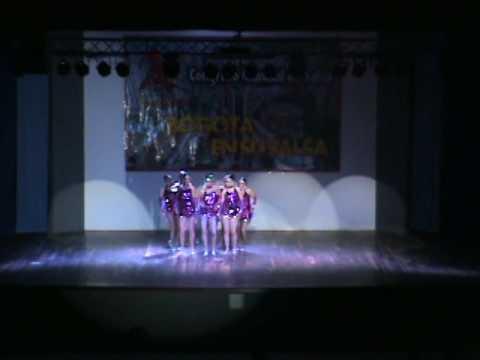 ladies amateur juvenil congreso Bogotá 2015 club feel sport dance academia cuban break