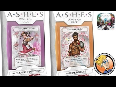 Ashes: The Roaring Rose and The Duchess of Deception — Gen Con 2016