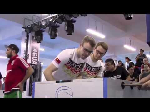 3 Worldchampions against Jerry Todd at the OD semifinal on Guardian