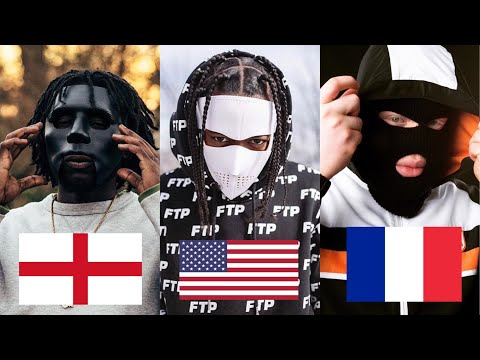 Gangsta Rap From Around The World (Greek, Czech Republic, Albania, Haiti)
