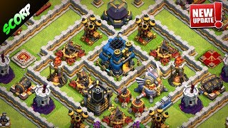 Th12 Trophy Base| Troll base 2018 Update - Clash Of Clans