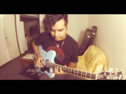 Screaming blues o mania paul gilbert cover by erick j garcia