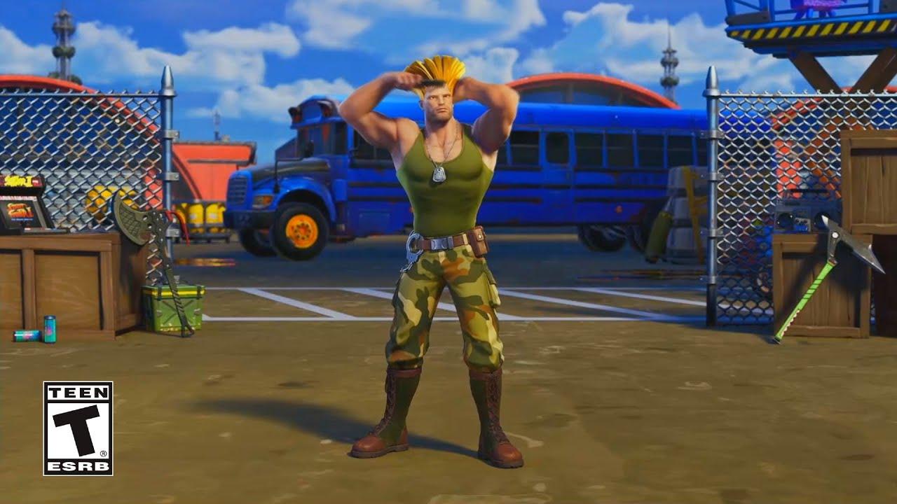 Fortnite Street Fighter Trailer