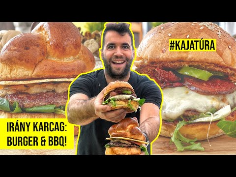 Angus húspogácsák a Garage Burger & BBQ-ban! (Kajatúra: Karcag)
