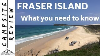 FRASER ISLAND - What you need to know