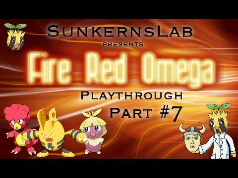 Fire Red Omega Playthrough Part 7: Misty's Gym!