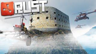 Мой Летающий Замок РЕЙДИТ Весь Сервер! (Новый Раст | New Rust)