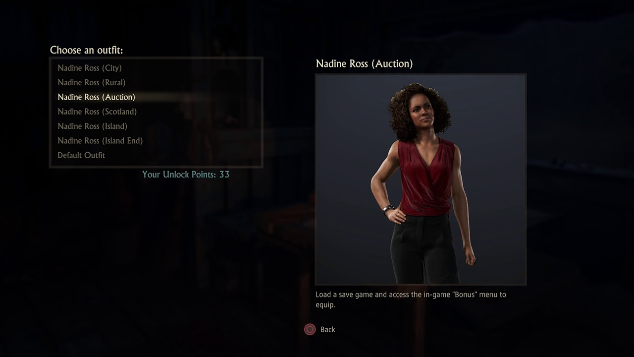 All Skins For Chloe And Nadine Uncharted Lost Legacy Youtube