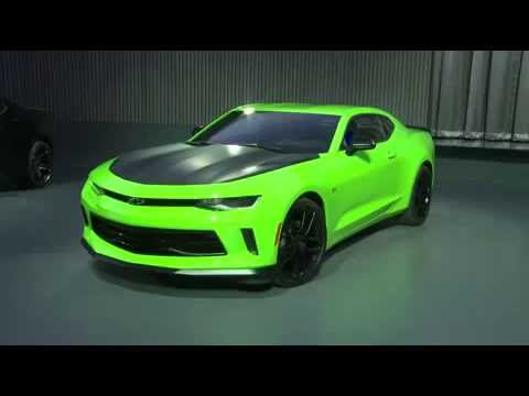 2017 Chevrolet Camaro 1le Performance Package V6 Green Westphal