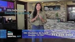 Dentista en Houston / Examen GRATIS en Dental Art Houston